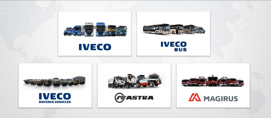 Các dòng sản phẩm của IVECO