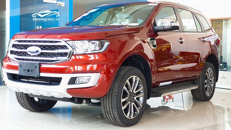 Xe Ford Everest 2020 đang bán tại Việt Nam